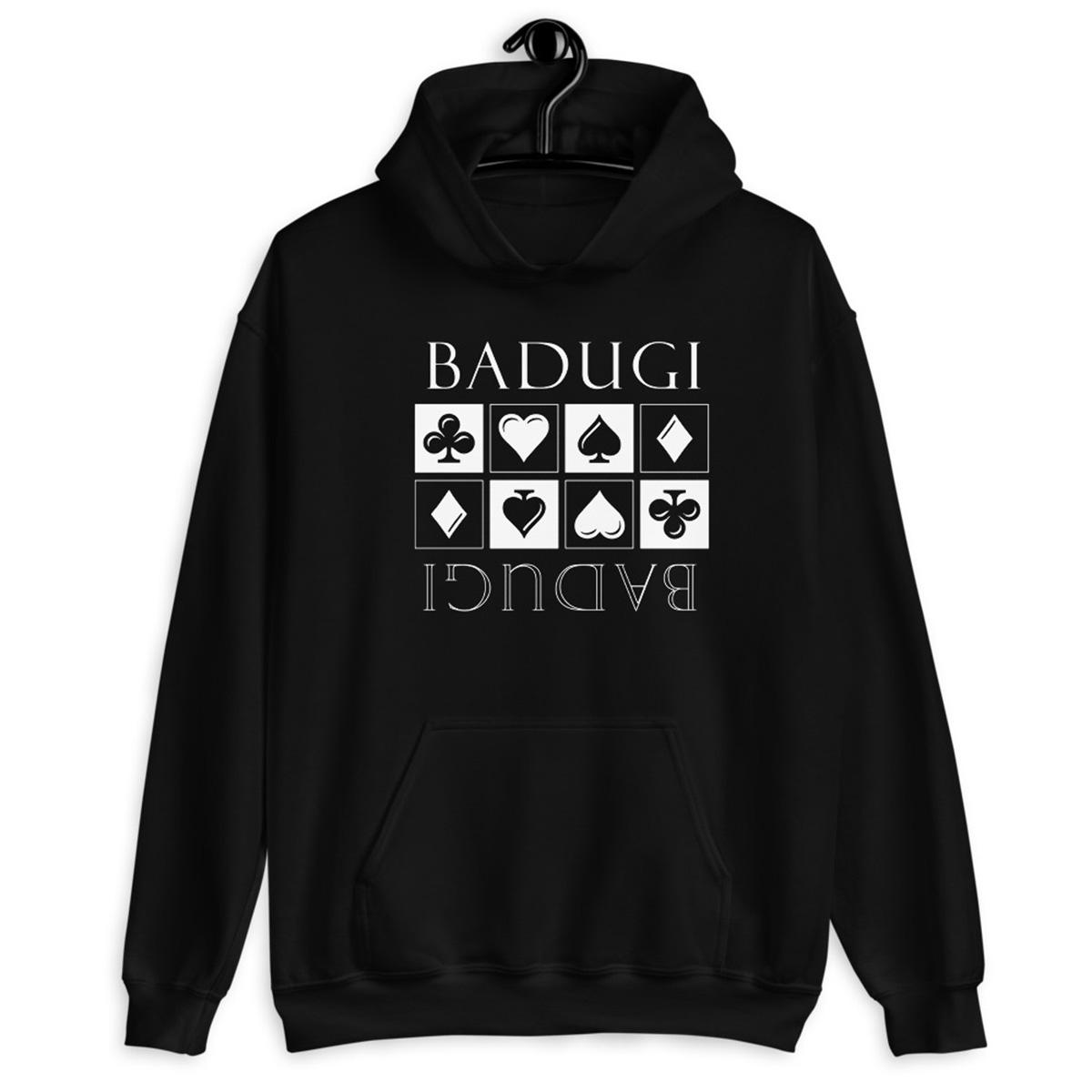Badugi Hoodie-Indigo Black
