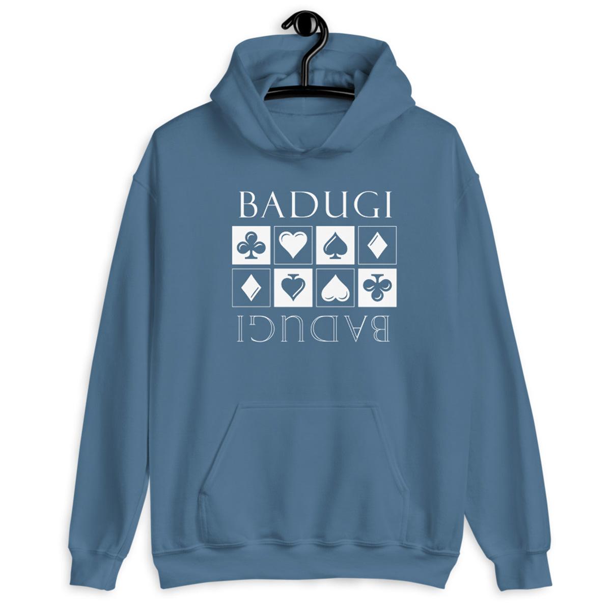 Badugi Hoodie-Indigo Blue