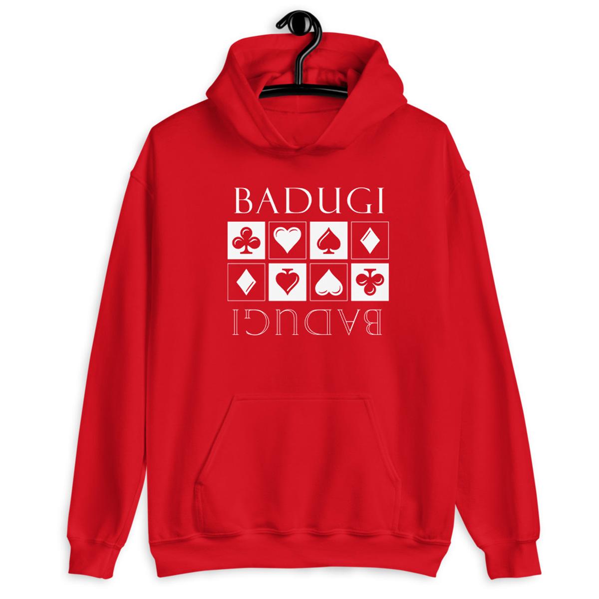 Badugi Hoodie-Indigo Red