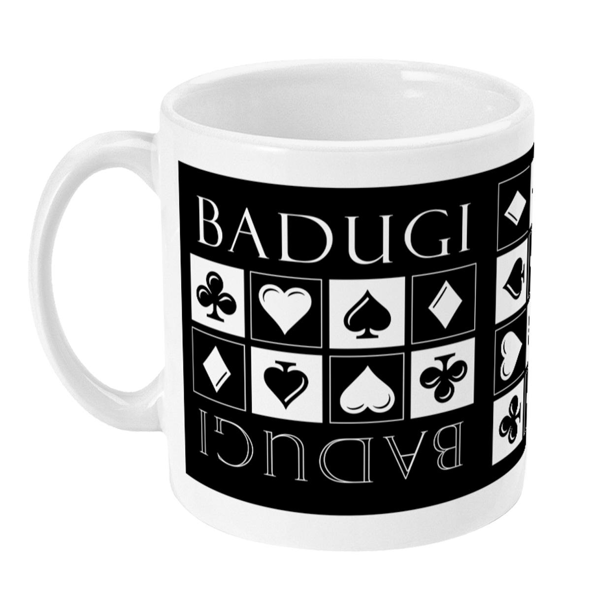 Badugi Poker Mug - Left