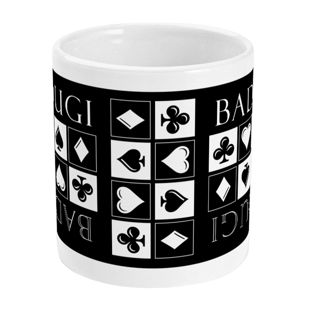 Badugi Poker Mug -Middle