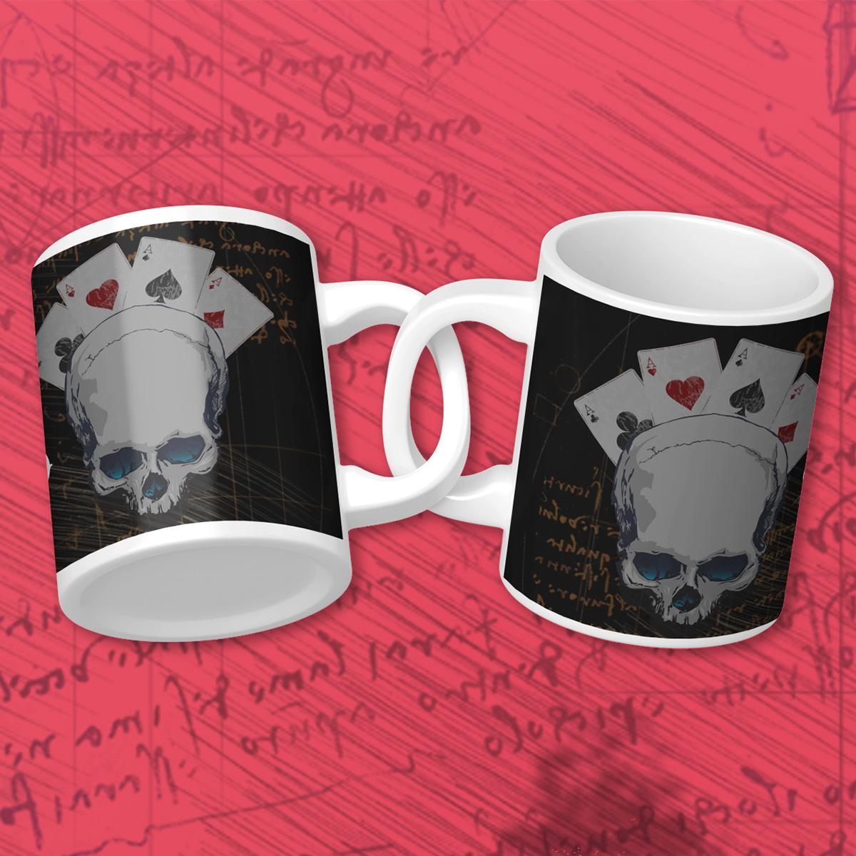 Plan for the Grind Poker Mug