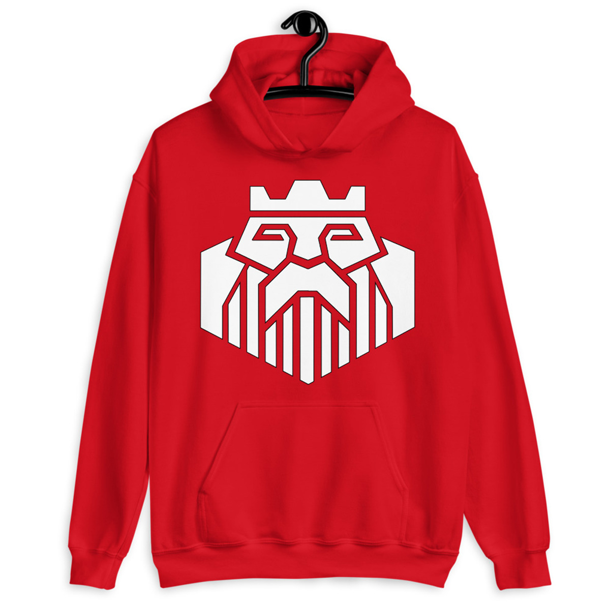 Kings Poker Hoodie-Red