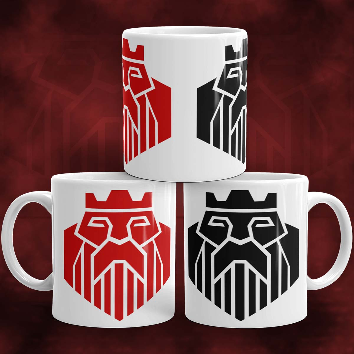 The Kings Poker Mug
