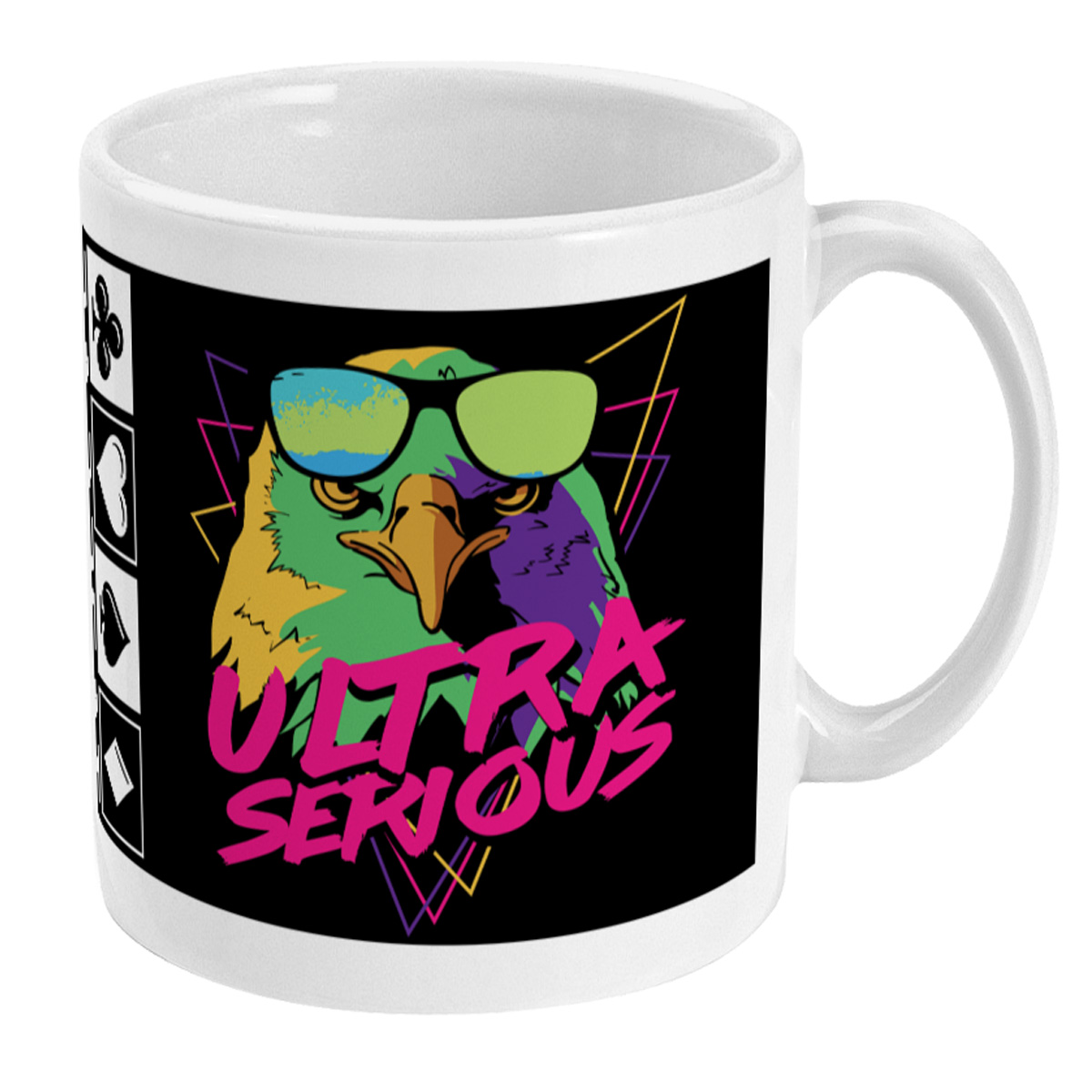Ultra Serious About Poker Mug - Right