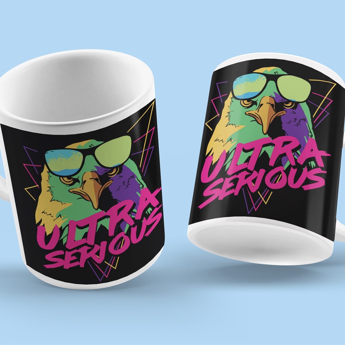 Ultra Serious Poker Mug