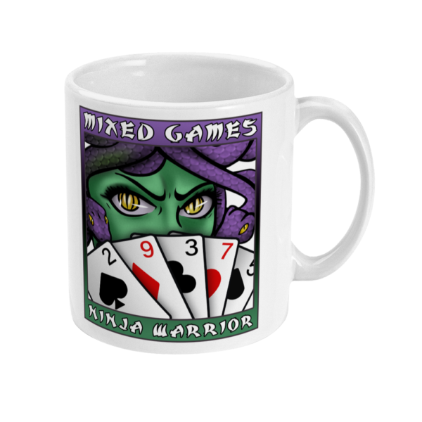 Mixed Games Ninja Warrior Mug