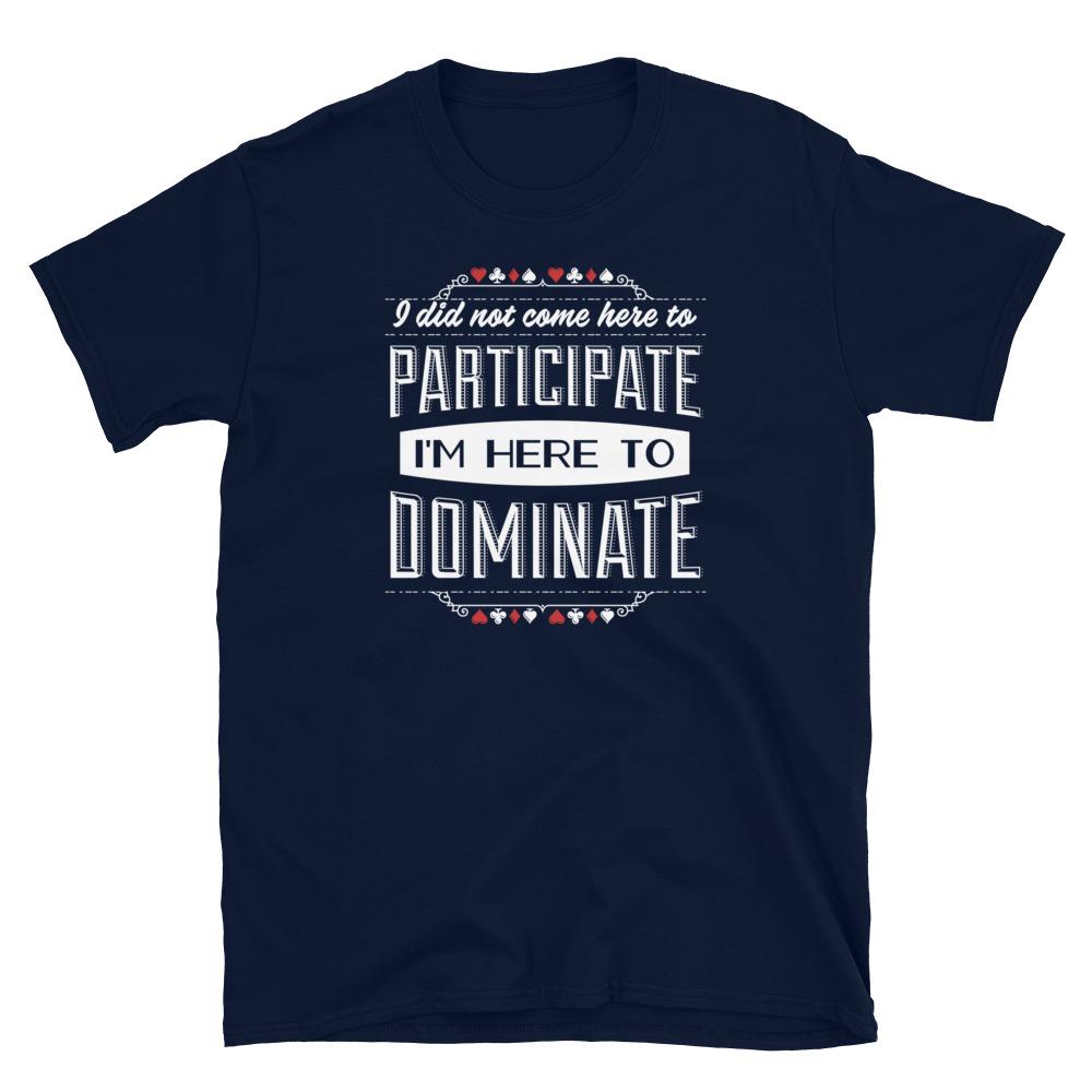 Dominate Poker T-Shirt-Navy