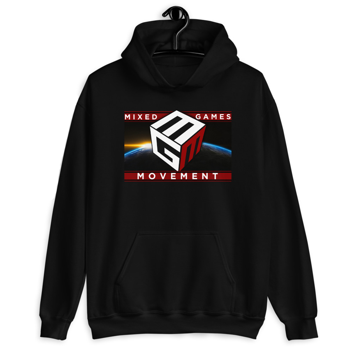 Mixed Games Movement Poker Hoodie - Black