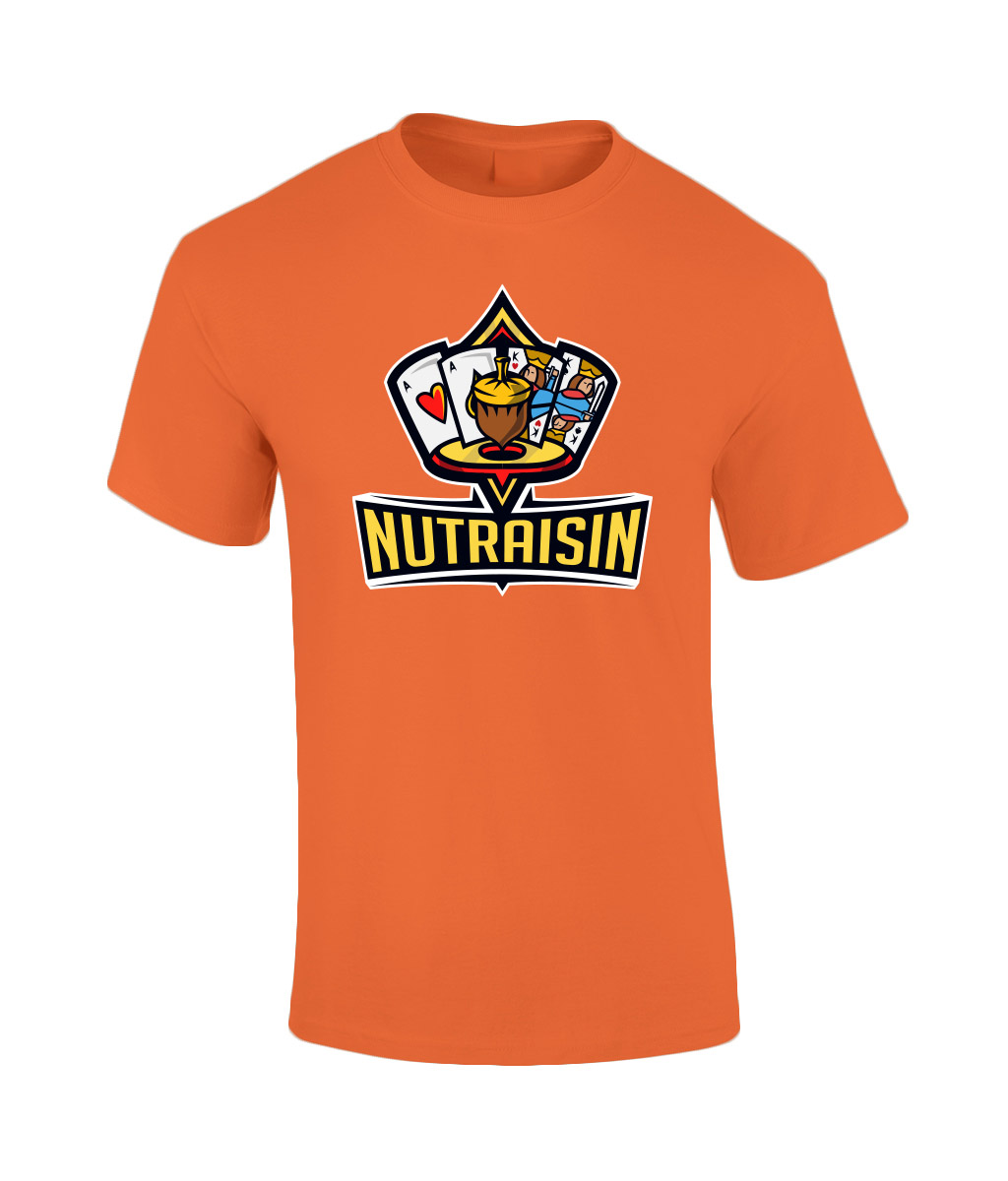 NutRaisin-Unisex-T-Tangerine
