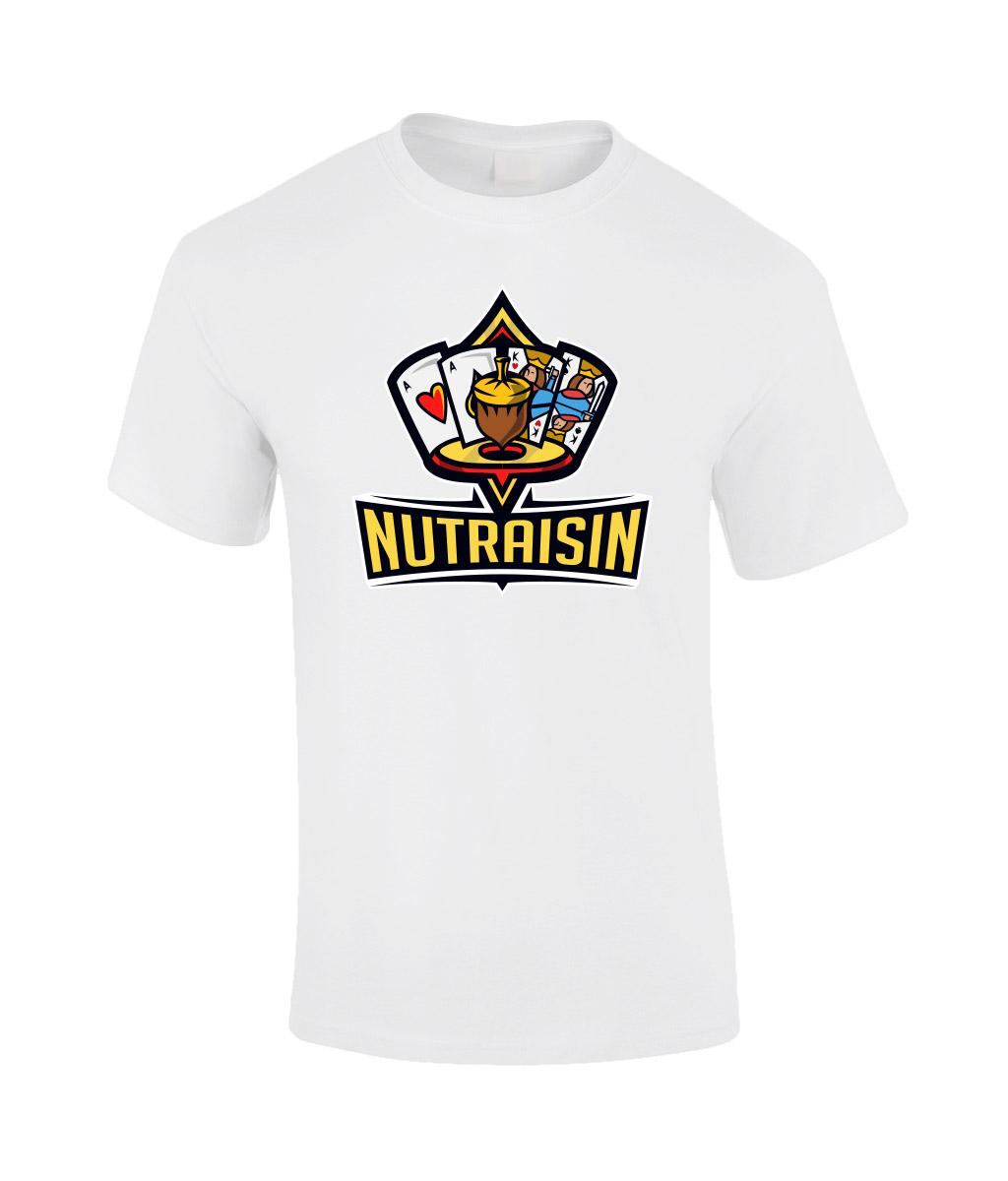 NutRaisin-Unisex-T-White