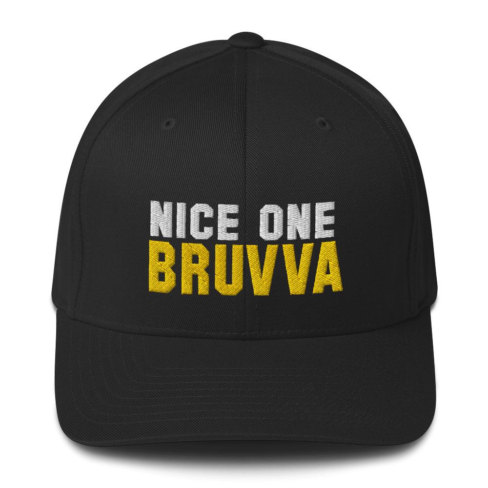 Nice-One-Bruvva-Baseball-Cap-Black