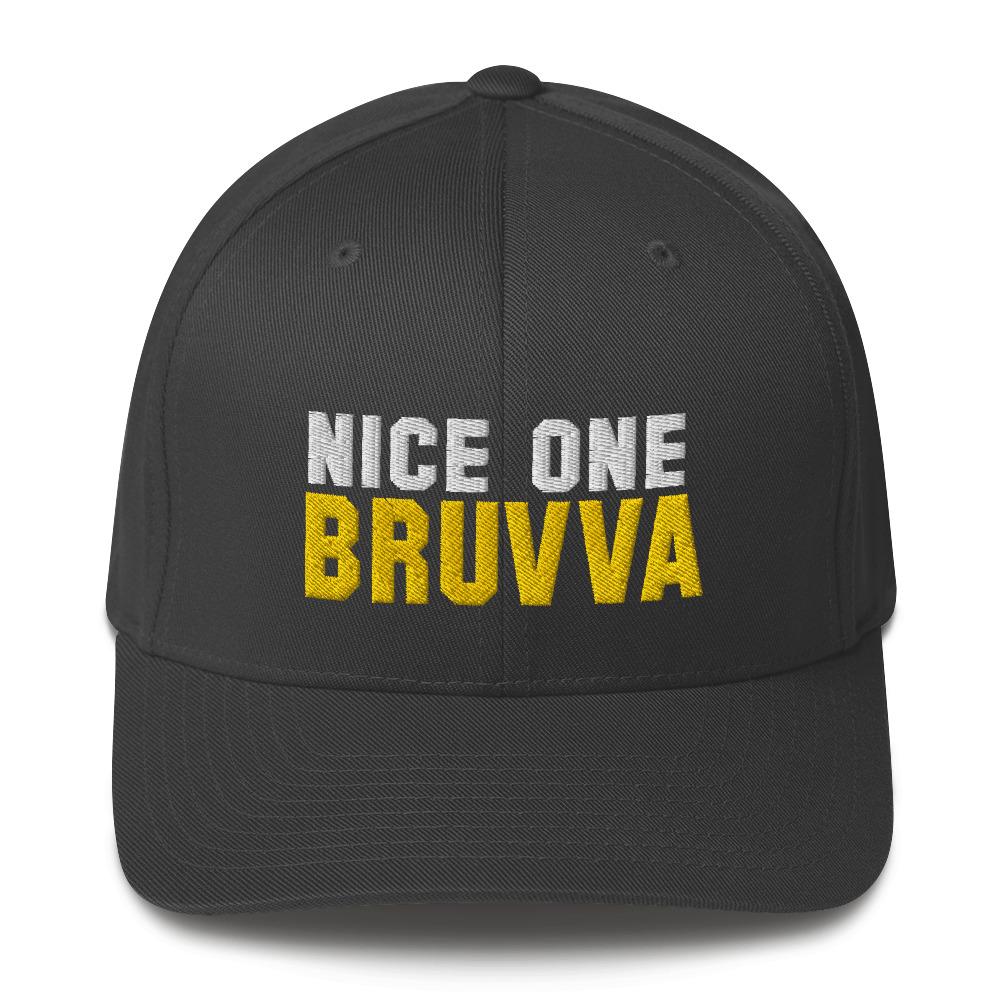Nice-One-Bruvva-Baseball-Cap-Dark-Grey