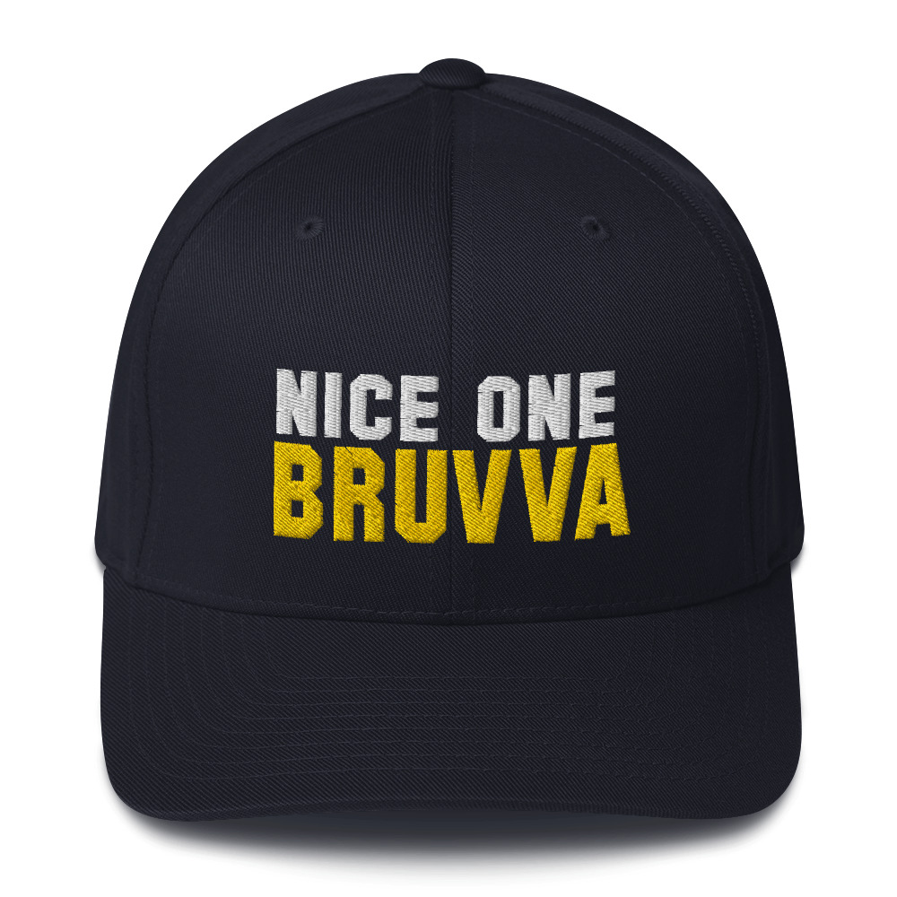 Nice-One-Bruvva-Baseball-Cap-Dark-Navy