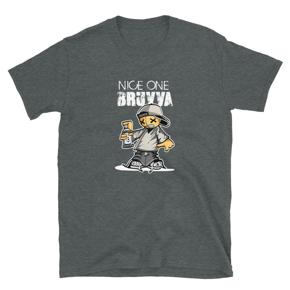 Nice-One-Bruvva-Poker-T-Shirt_Dark-Heather