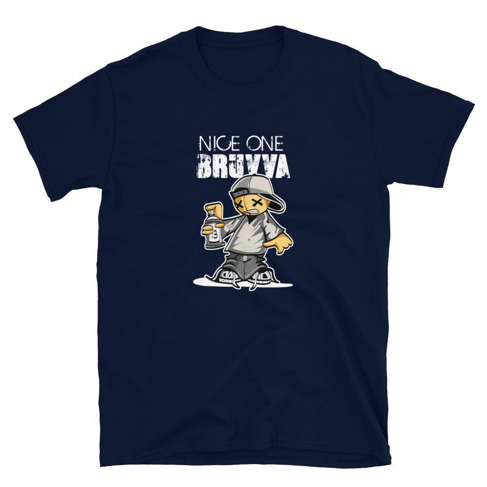 Nice-One-Bruvva-Poker-T-Shirt_Navy