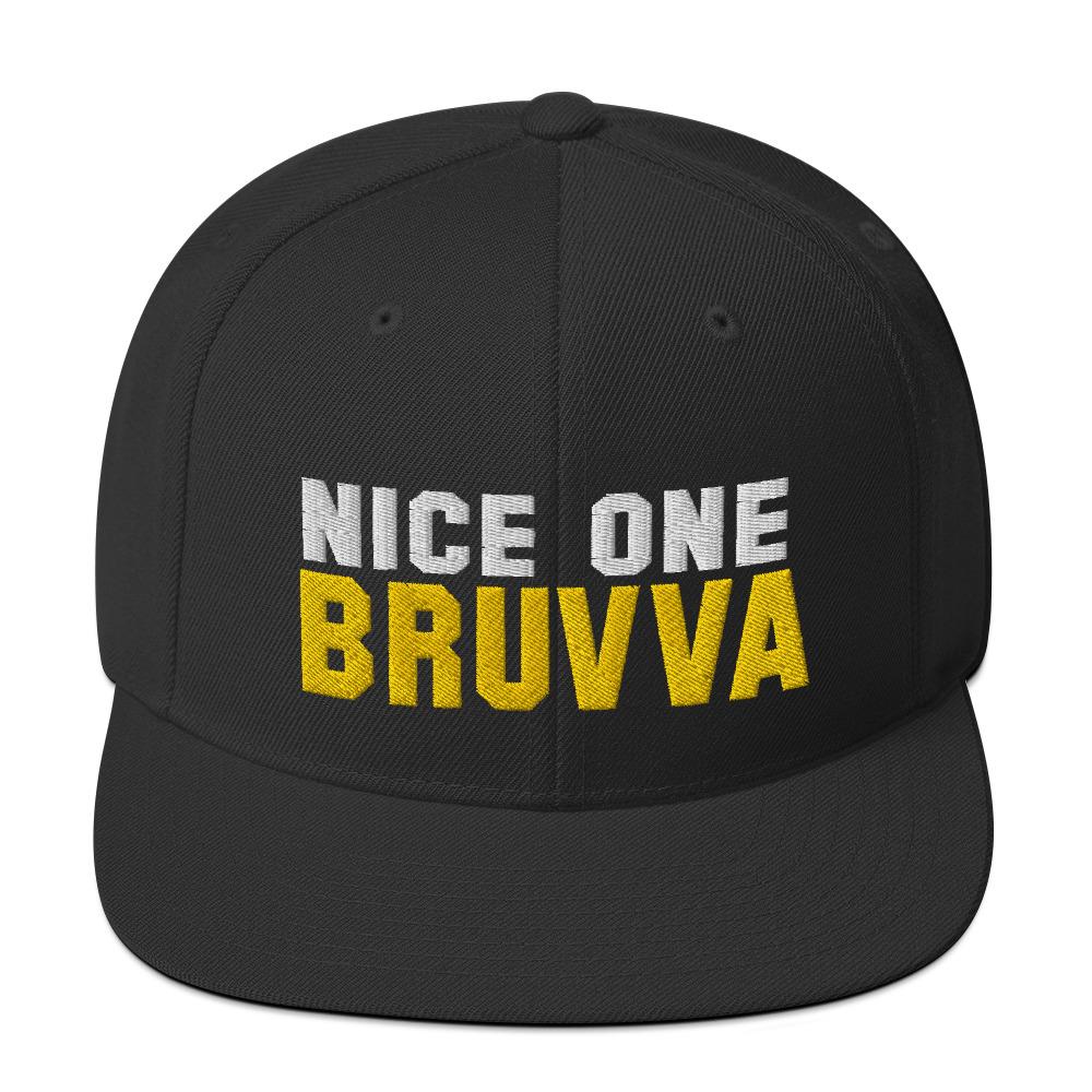 Nice-One-Bruvva-Snapback-Cap-Black