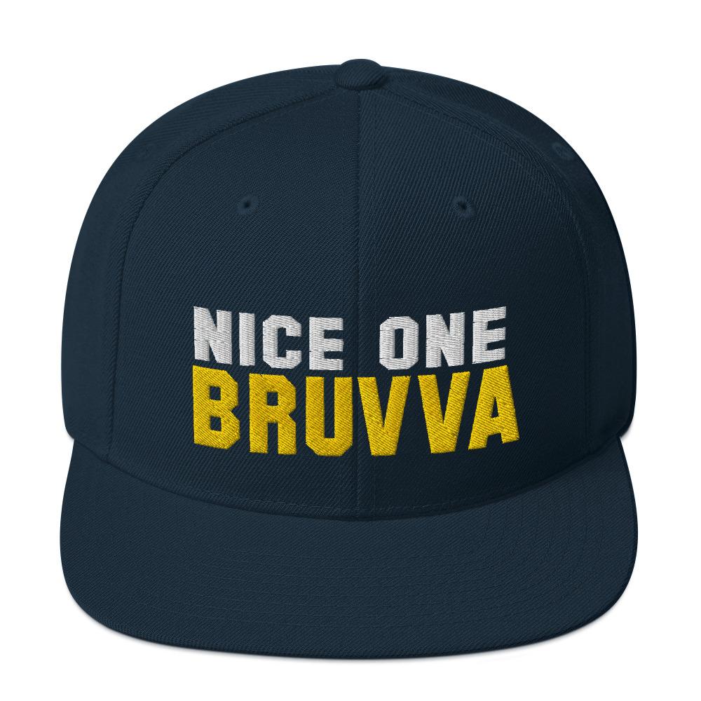 Nice-One-Bruvva-Snapback-Cap-Dark-Navy