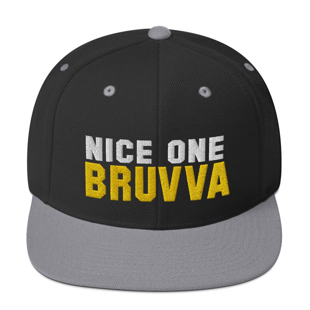 Nice-One-Bruvva-Snapback-Cap-Silver
