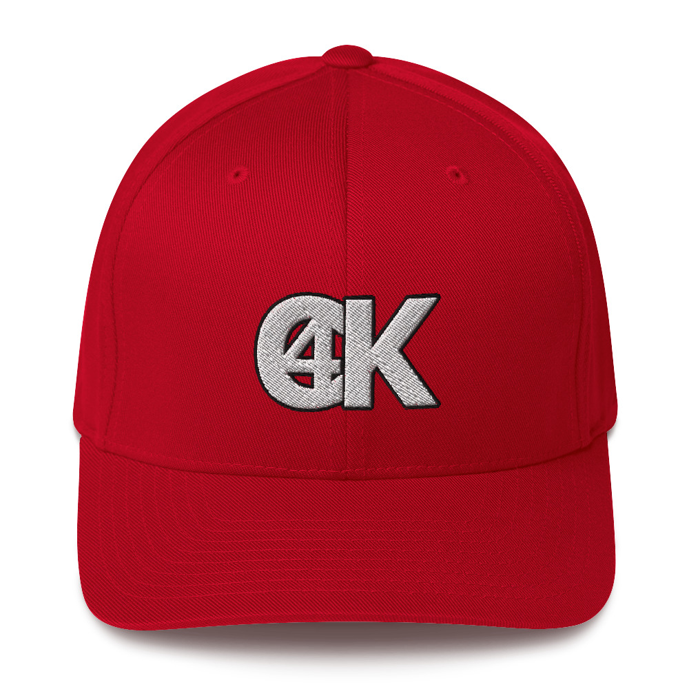 Cash4King-Baseball-Cap-Red