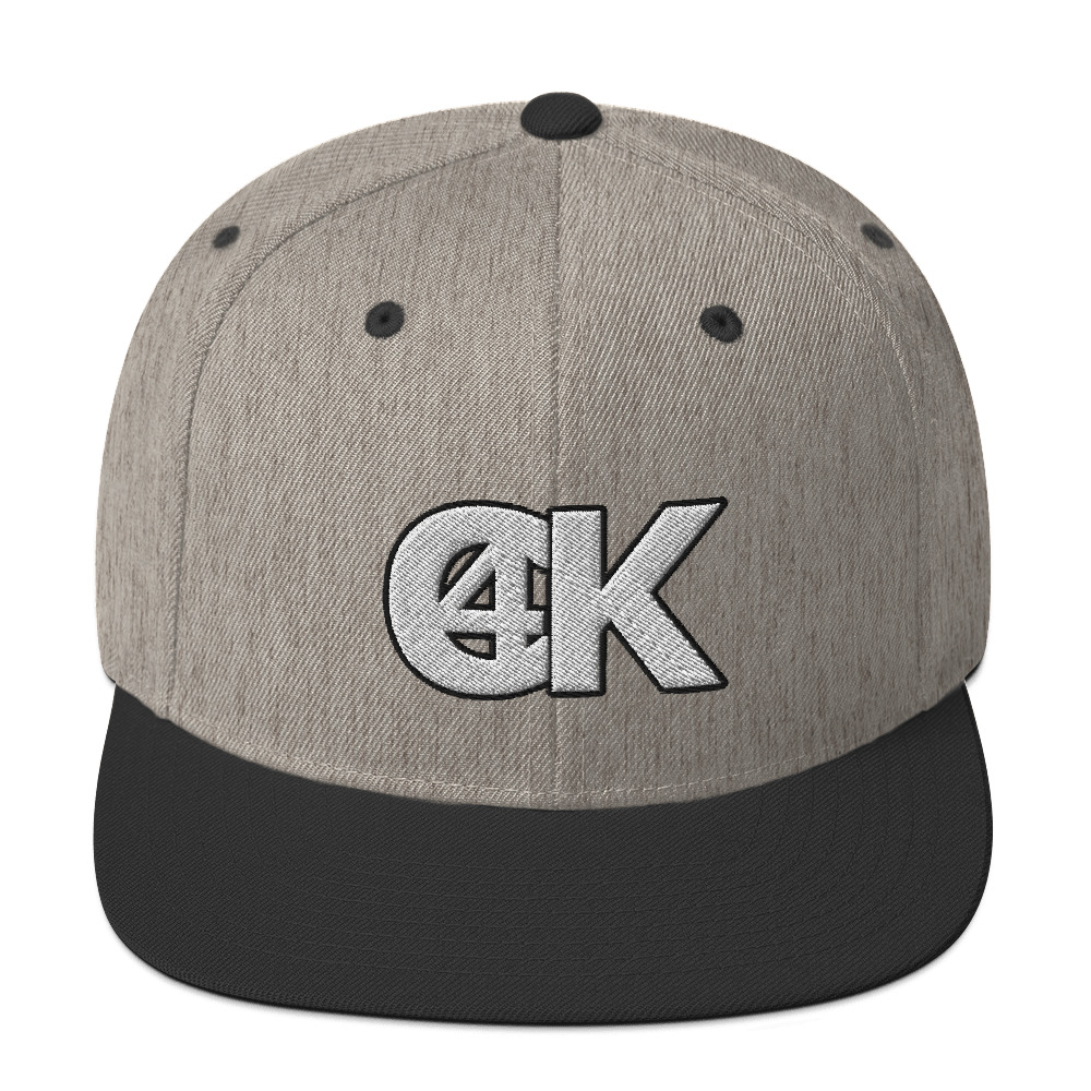 Cash4King-Snapback-Cap-Heather-Black