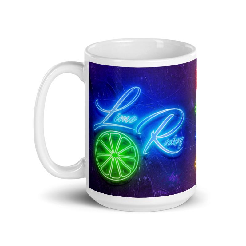 LimeRickey 15oz Mug Left