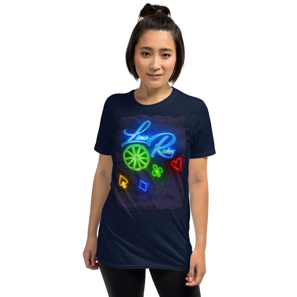 LimeRickey Poker T-Shirt-Navy