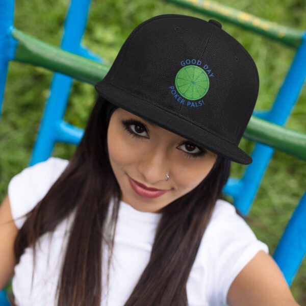 LimeRickey SnapBack Cap
