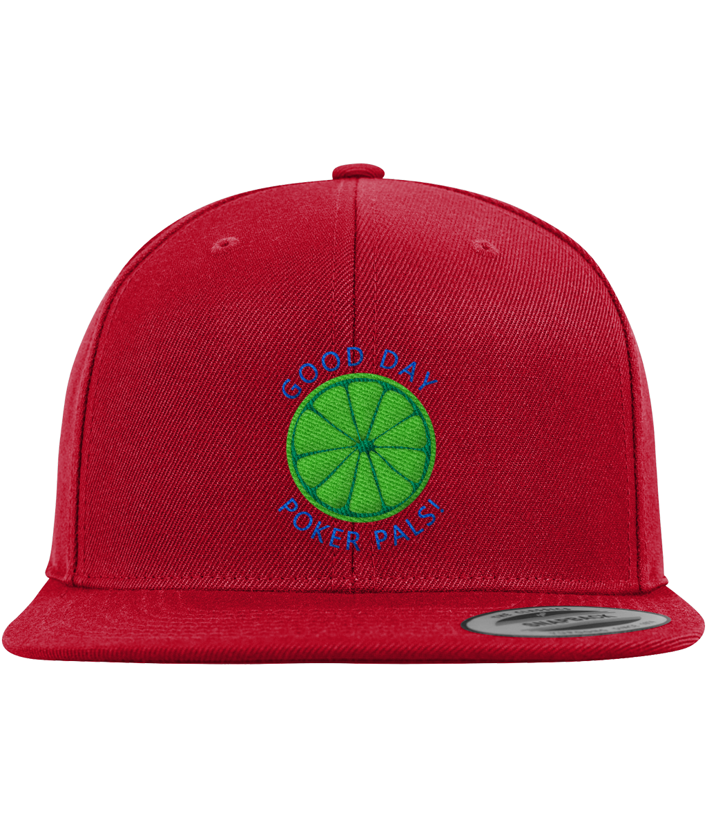 Limerickey Snapback Cap - Red