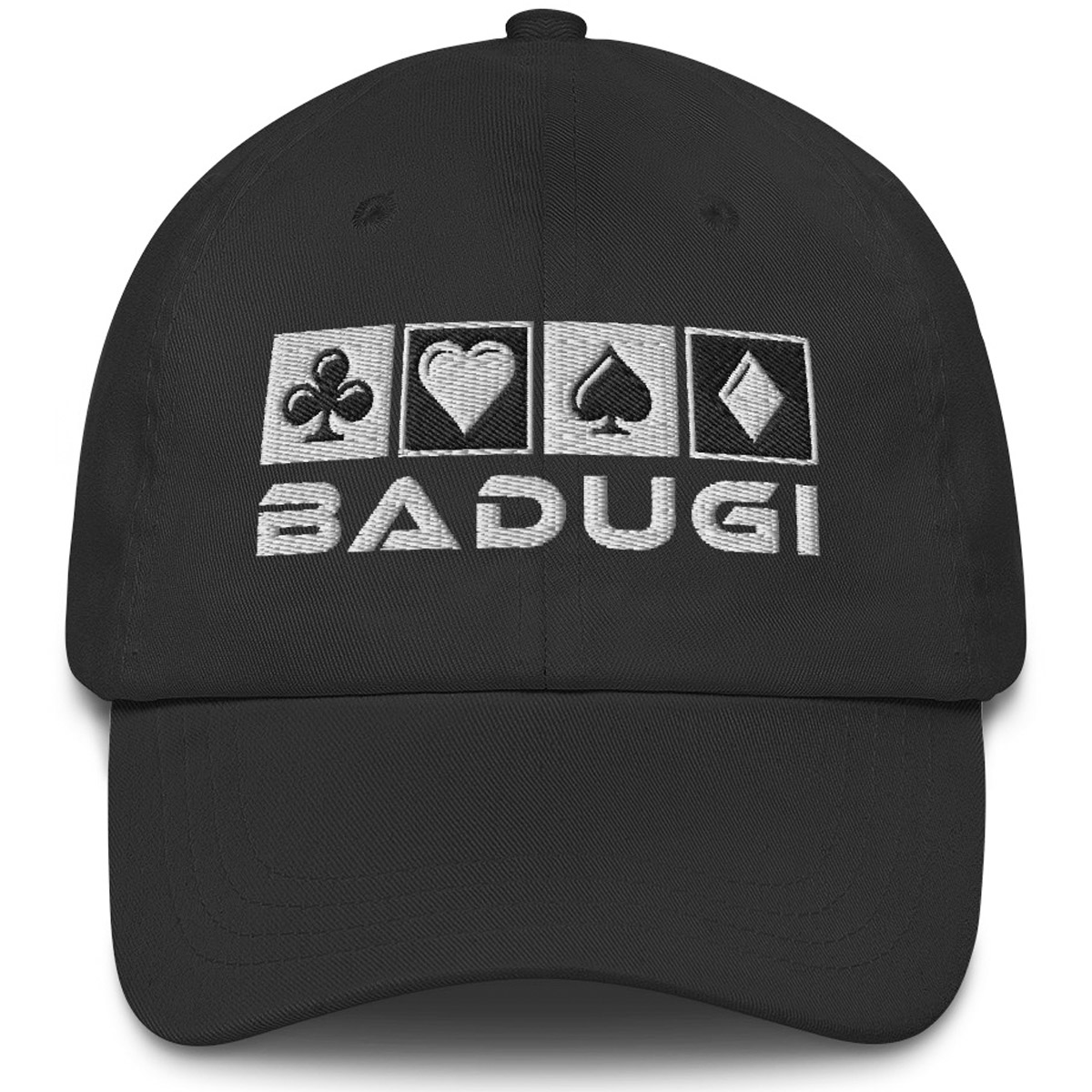 Badugi Dad Hat Black