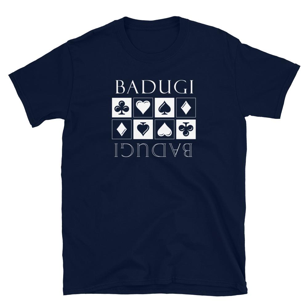 Badugi Poker T-Shirt-Navy