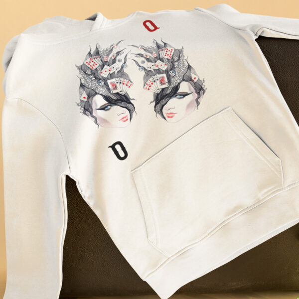 enchanted Queen Poker Hoodie