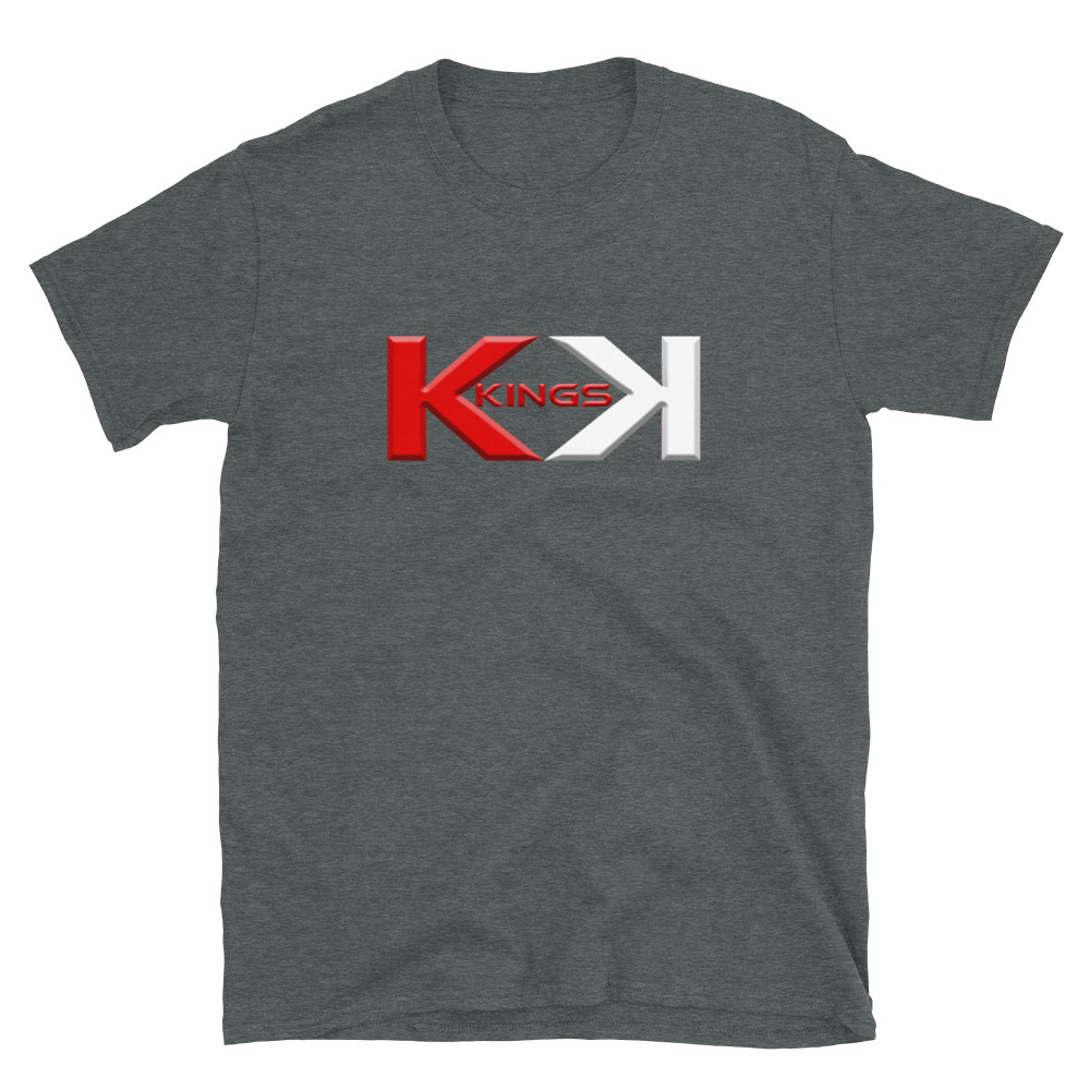 Kings Poker T-Shirt-Dark Heather