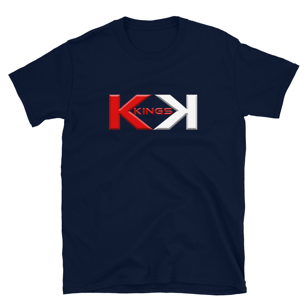 Kings Poker T-Shirt-Navy
