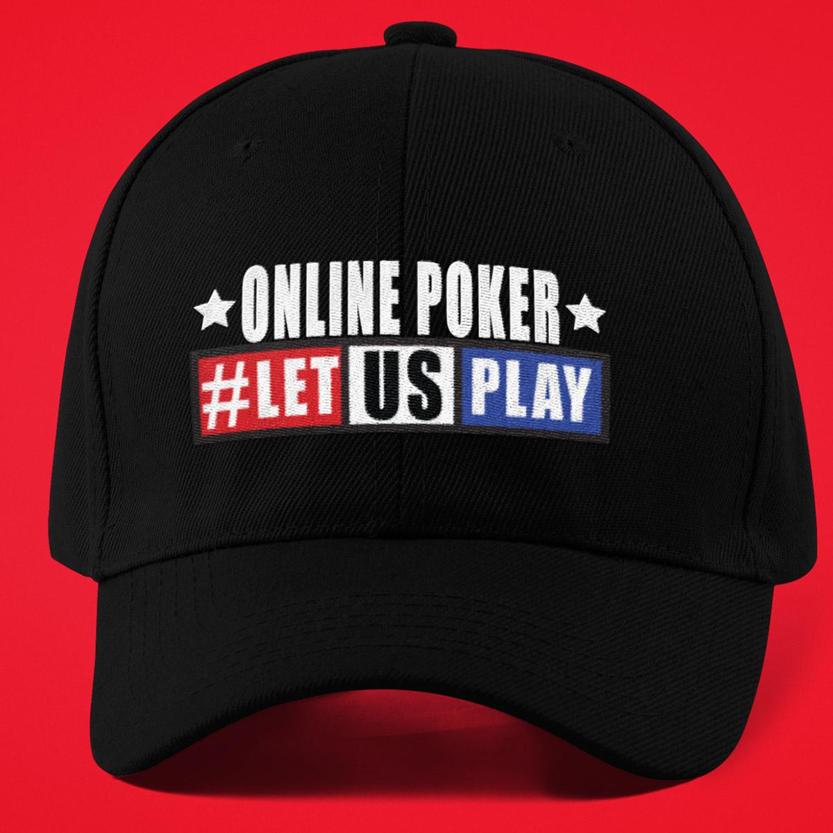 Online Poker Let US Play Poker Hat