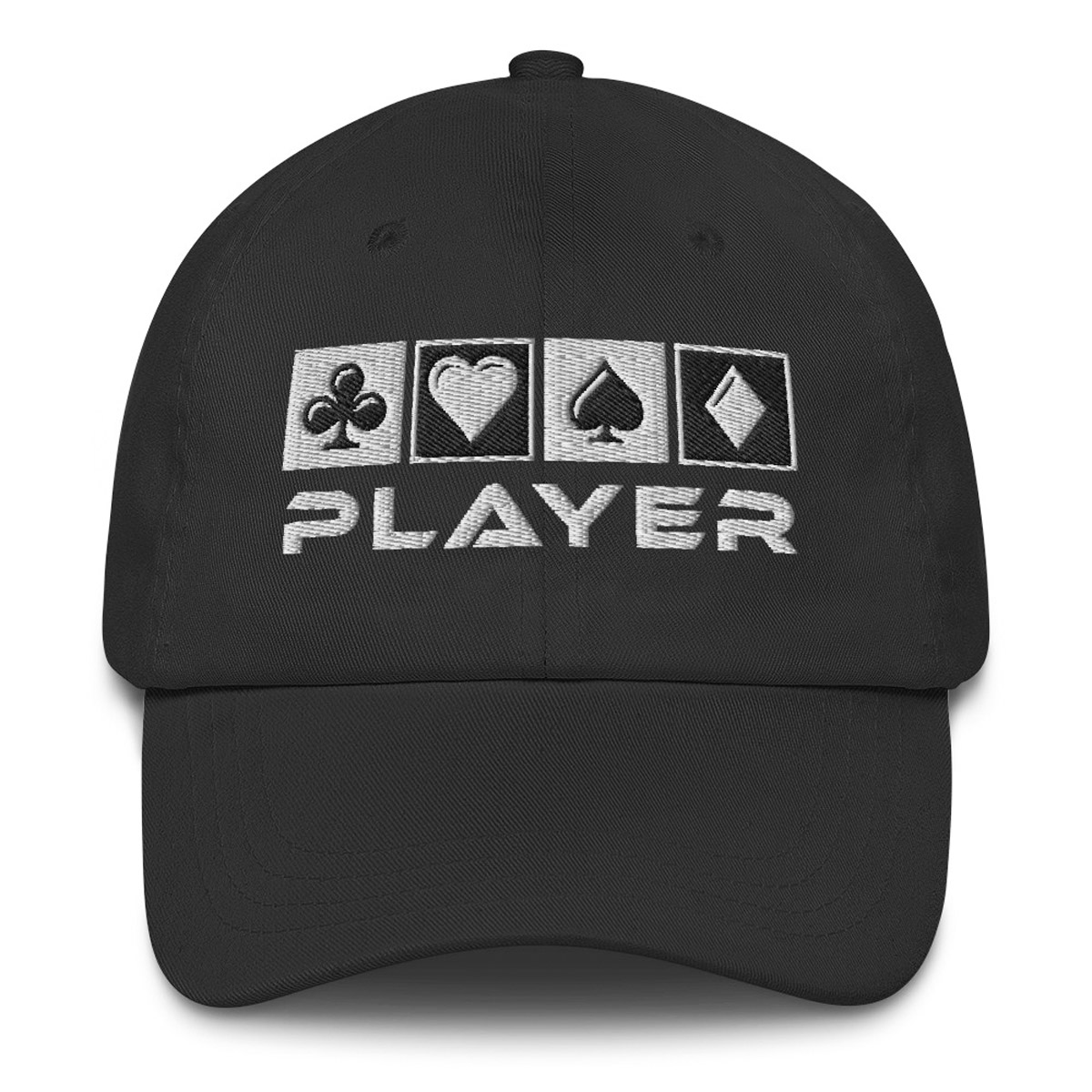 Player Dad Hat - Black