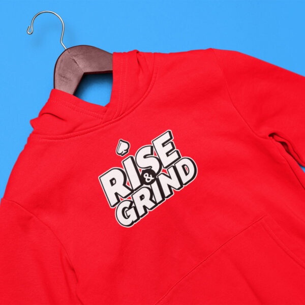 Rise and Grind Poker Hoodie
