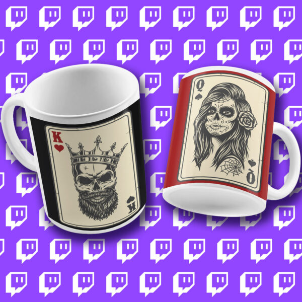 King and Queen of Twitch Mug