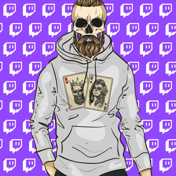 King and Queen of Twitch Hoodie