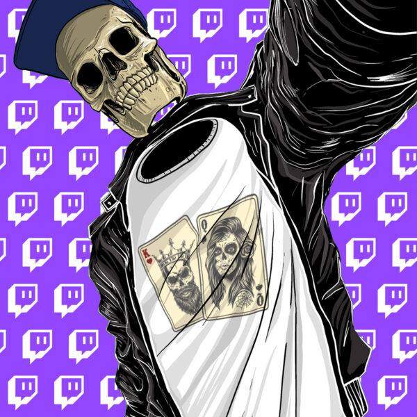 King and Queen of Twitch Poker T-Shirt