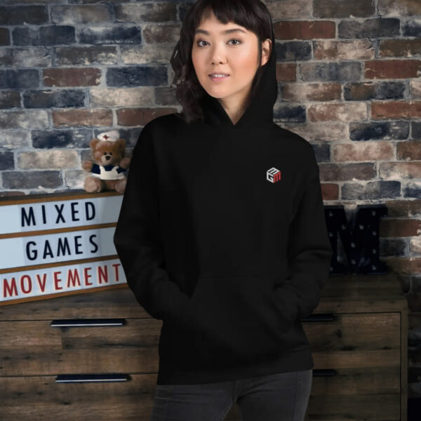 Mixed Games Movement Embroidered Poker Hoodie - Female Feature