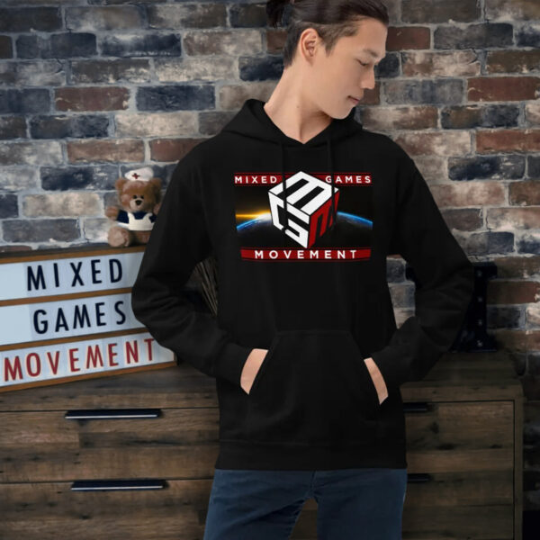 Mixed Games Movement Poker Hoodie - Male Feature