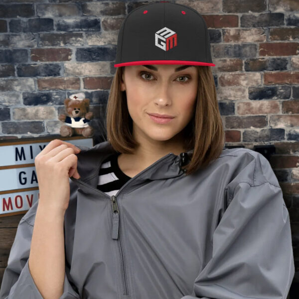 Mixed Games Movement Snapback Hat - Female Feature