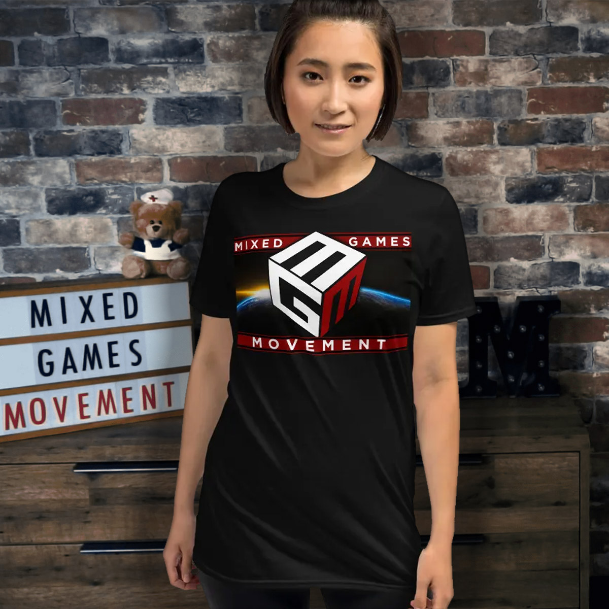 Mixed Games Movement T-Shirt - Female Feature