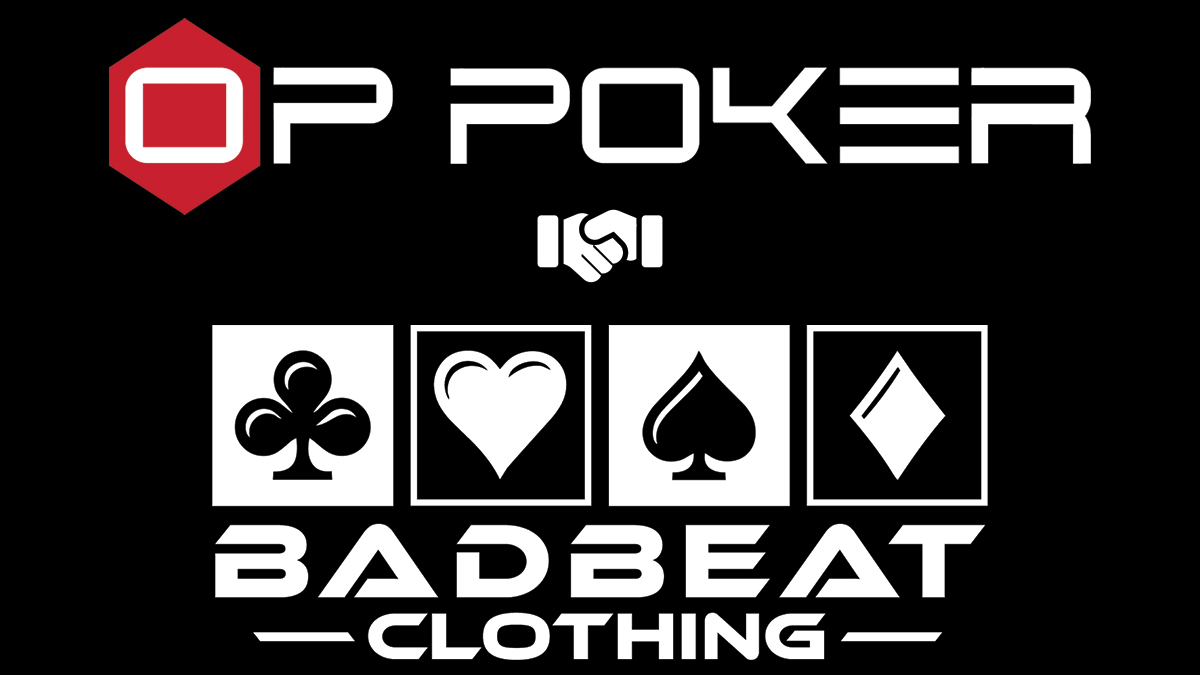 OP Poker BadBeat Clothing Partnership