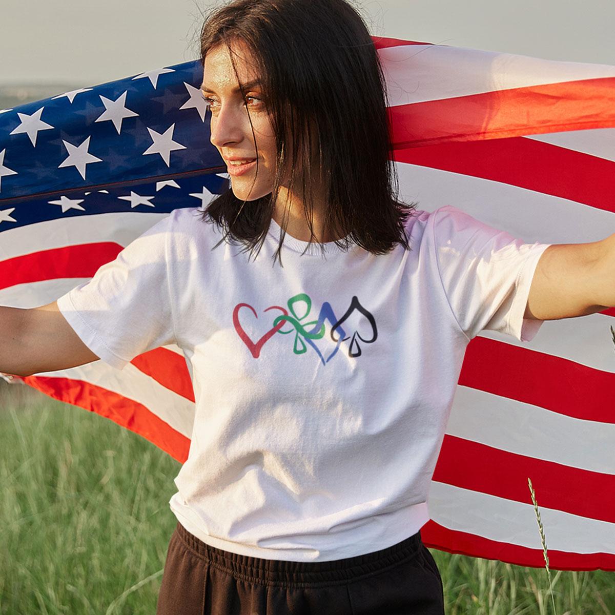 Unity T-Shirt Female Mockup 2