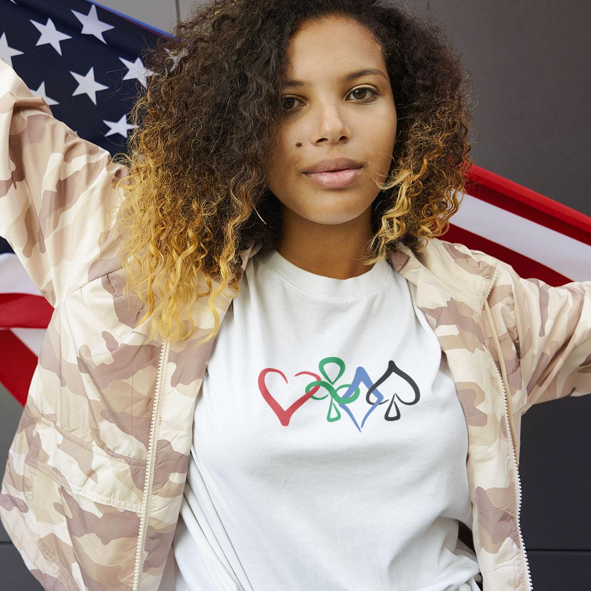 Unity T-Shirt Female Mockup