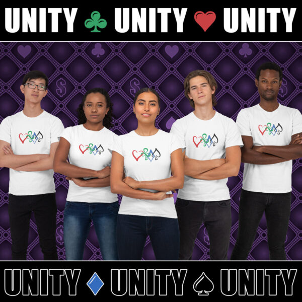 Unity in Poker T-Shirt