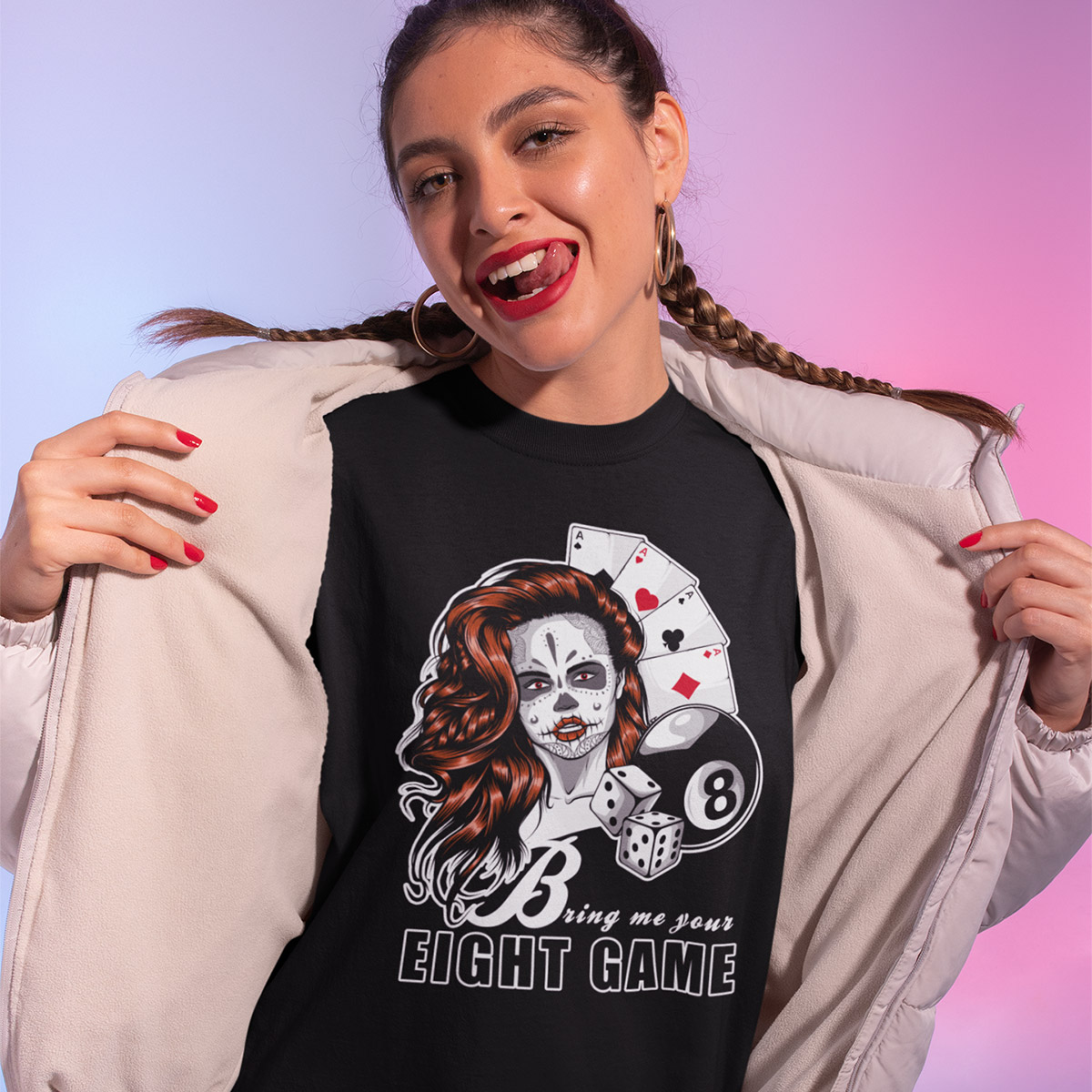 Bring Me Your Eight Game Poker T-Shirt