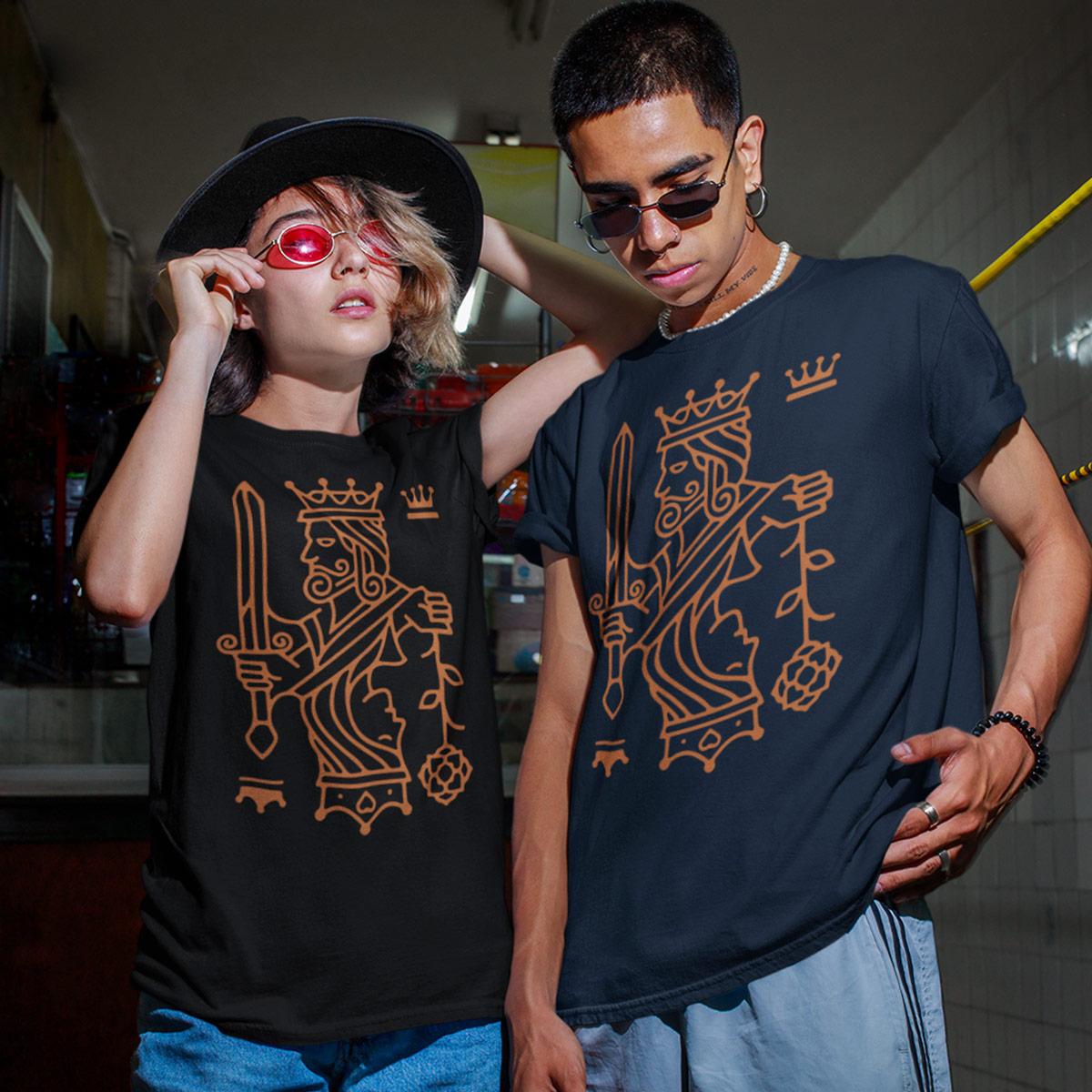 Kings top Queens Poker T-Shirt